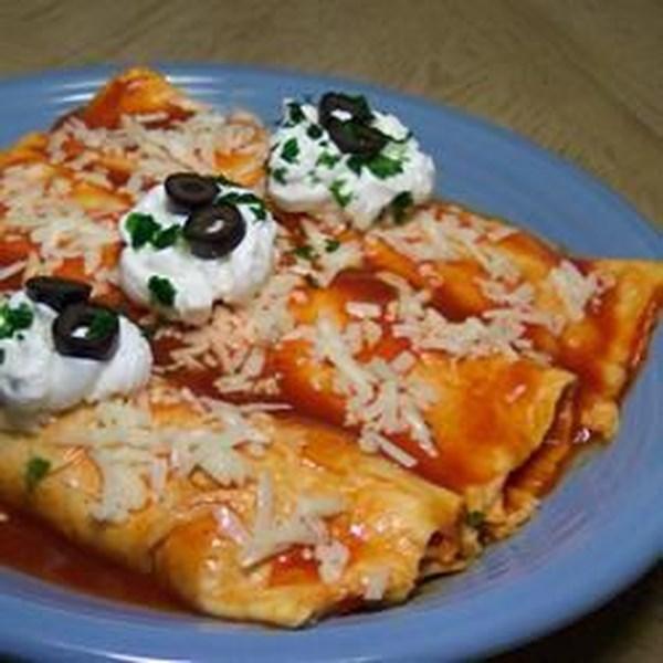 Receita de Enchiladas de Batata De Purê Fácil e Legumes Assados
