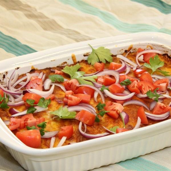 Receita de Enchiladas de Frango Mais Saudável