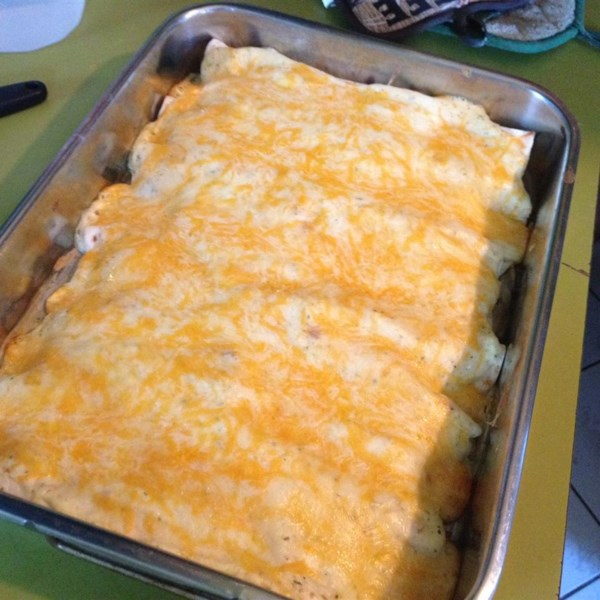Receita de Enchiladas do Rancho do Frango