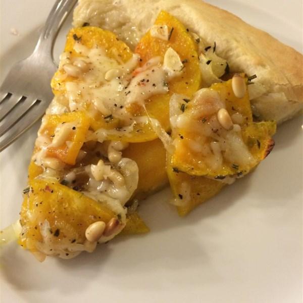 Pizzas de abóbora com receita de alecrim