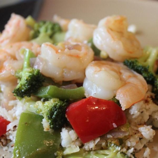 Receita secreta de curry de camarão vermelho tailandês de Spence