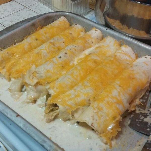 Receita de Frango Enchiladas Suizas