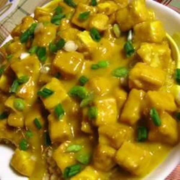 Receita de Tofu de Mostarda de Mel