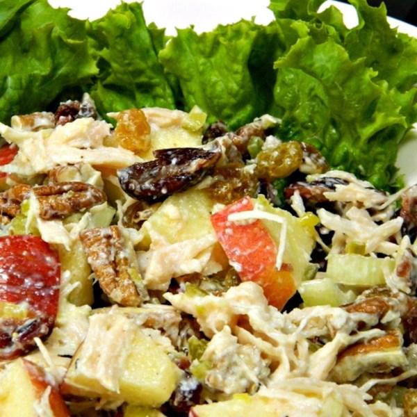 Melhor receita de salada de frango de todos os tempos
