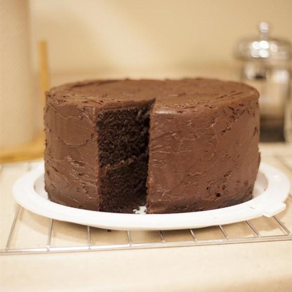 Receita de Bolo de Chocolate Escuro II