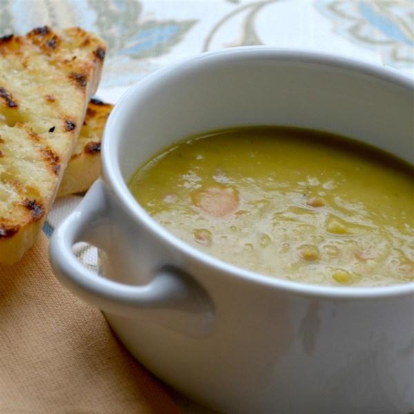 Receita de Sopa de Presunto e Ervilha Dividida - Uma Ótima Receita de Sopa