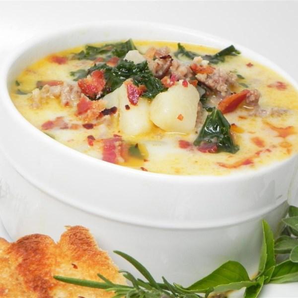 Receita de Zuppa Toscana estilo restaurante