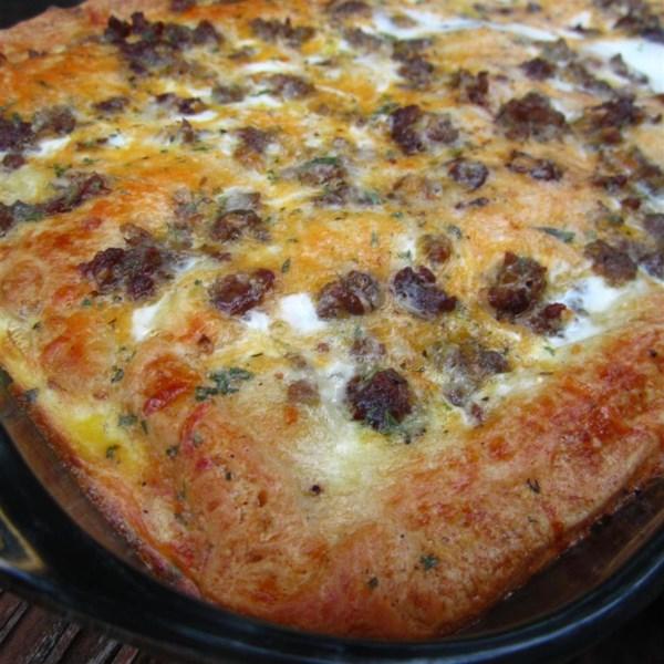 Receita de Pizza de Café da Manhã de Natal