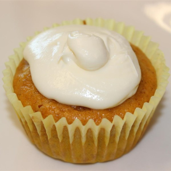 Receita de Cupcakes de Abóbora de Chocolate Branco