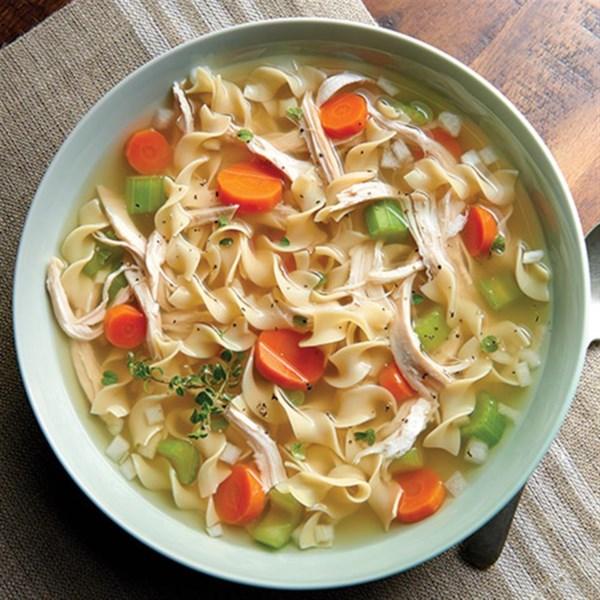 NO YOLKS(R) Chicken Noodle Soup Recipe