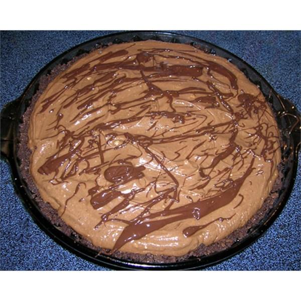 Receita de Torta de Manteiga de Amendoim de Chocolate I