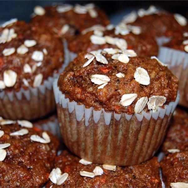 Receita de Muffins de Glória da Manhã Fácil