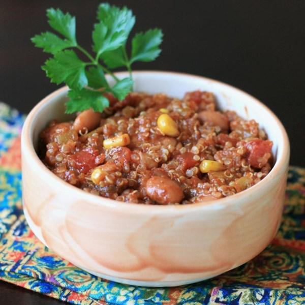 Receita rápida de Pimentão de Quinoa