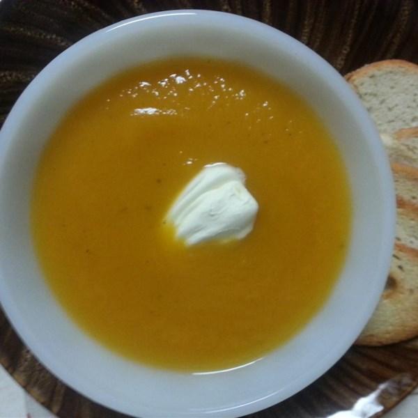 Receita de Sopa de Batata Doce Não Muito Doce