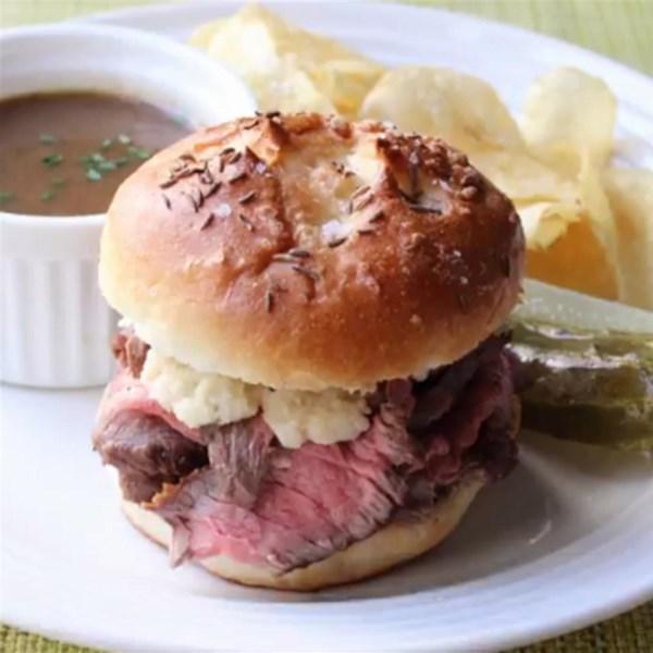 Chef John's Beef na Receita de Sanduíches de Weck