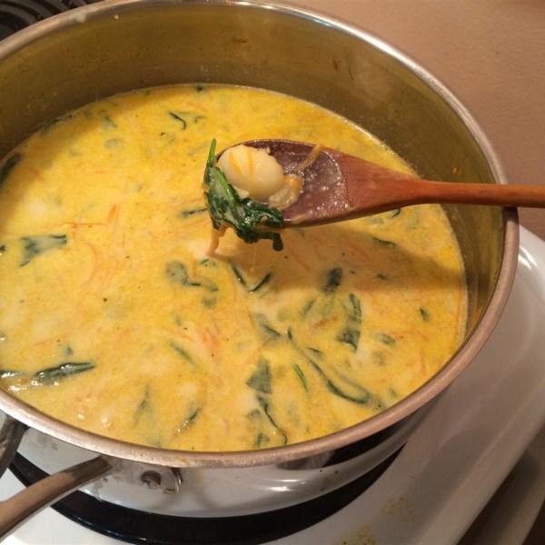 Receita de Sopa de Frango e Nhoque