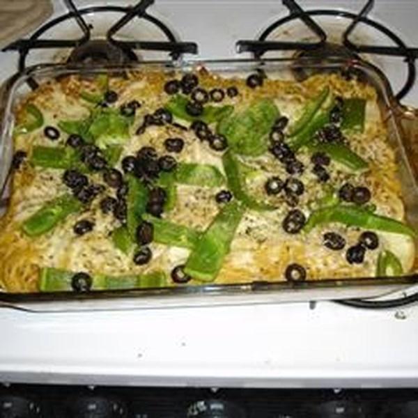 Receita de Espaguete III Assado