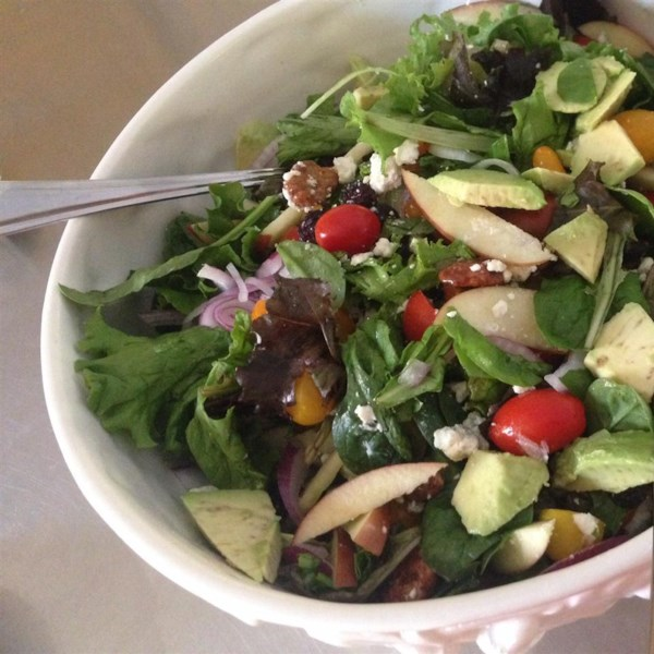 Receita de Salada de Colheita