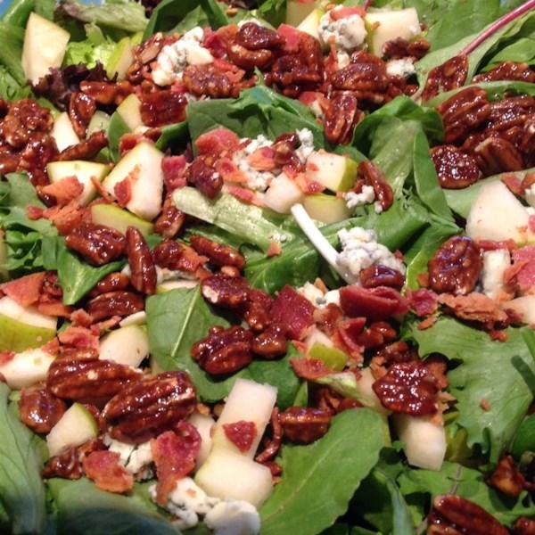 Receita de Salada de Queijo Azul de Maçã