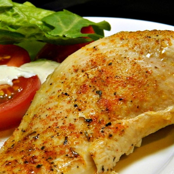 Receita simples de peitos de frango assados