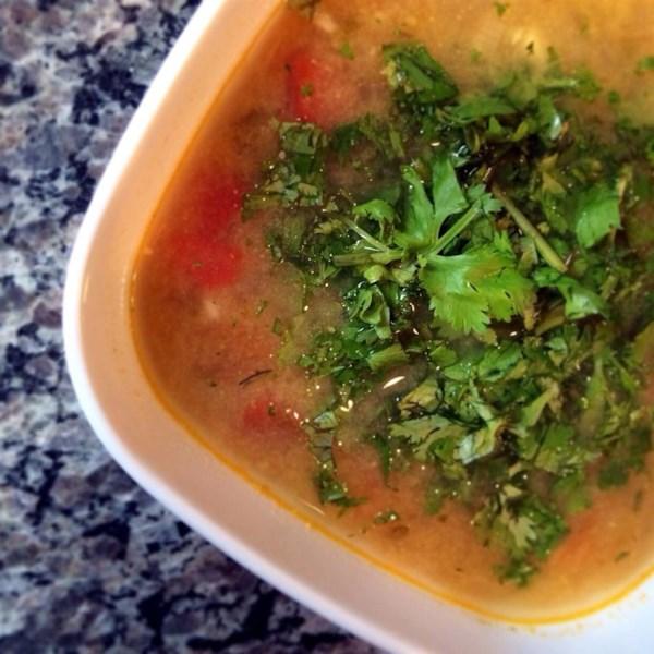 Receita de Sopa de Lima