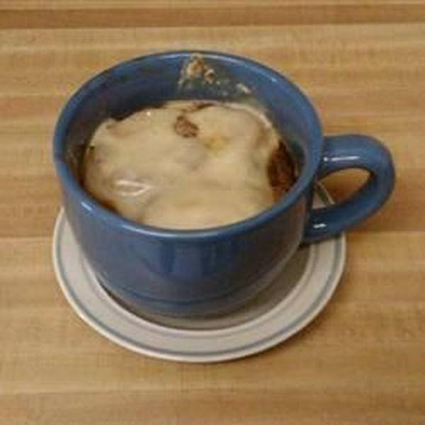 Receita de Sopa de Cebola Francesa Quickie