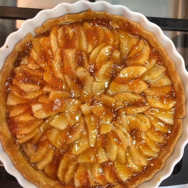 Receita rústica de torta de frutas de outono