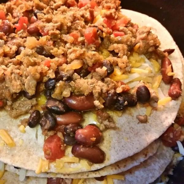 Receita fácil de Enchiladas de Panela Lenta
