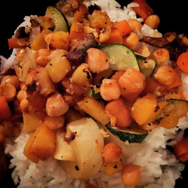 Receita de Hash Vegetariano Doce