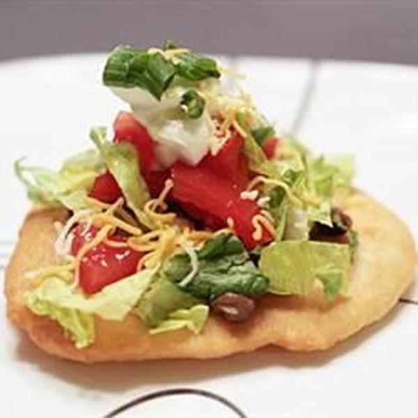 Receita de Tacos de Pão Frito II
