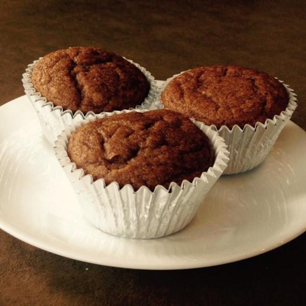 Receita de Muffins de Farinha de Torta de Abóbora