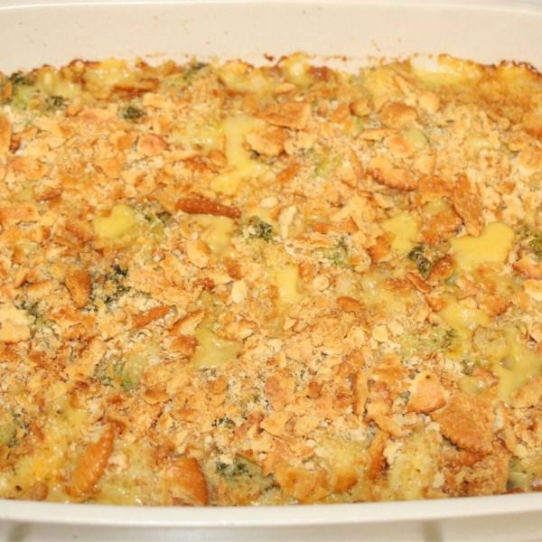 Receita de Caçarola de Brócolis e Couve-Flor