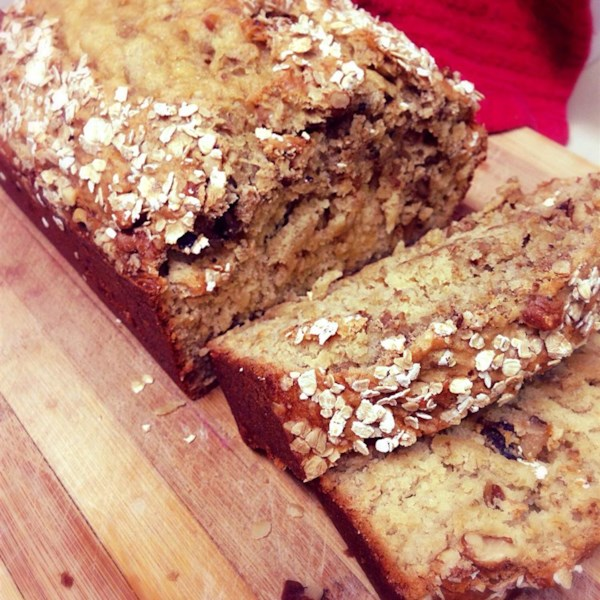 Brown Sugar Banana Nut Bread I Receita