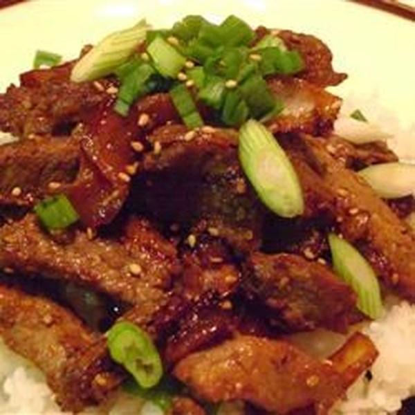 Receita bulgogi (carne assada coreana)