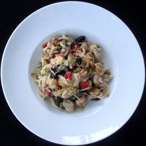 Receita de Espaguete de Frango RO*TEL(R)