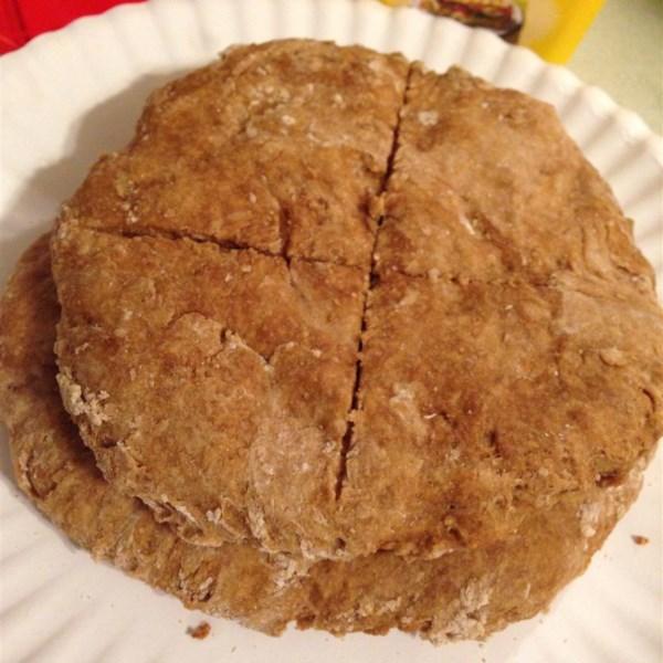 Receita de Pão Achatado de Melaço de Trigo Integral