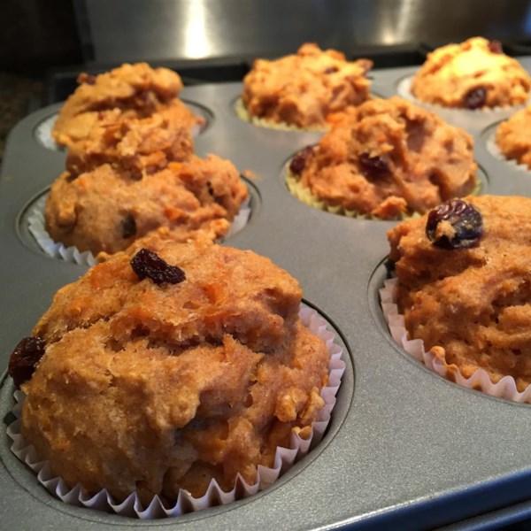 Receita de Muffins de Batata-Doce