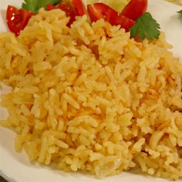 Receita mexicana de arroz sabor tomate