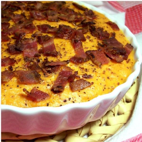 Caçarola de Batata Doce com Receita de Bacon