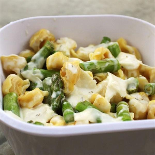 Receita de Salada de Tortellini-Aspargos