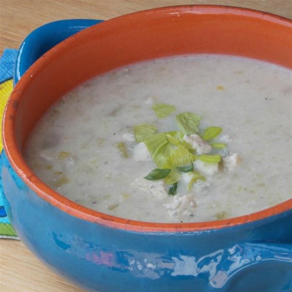Receita de Sopa de Aipo e Stilton