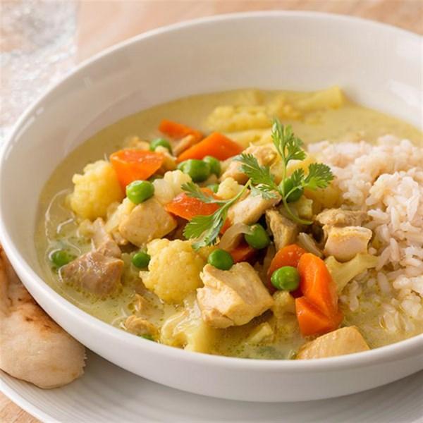 Receita de Frango Com Curry Fácil