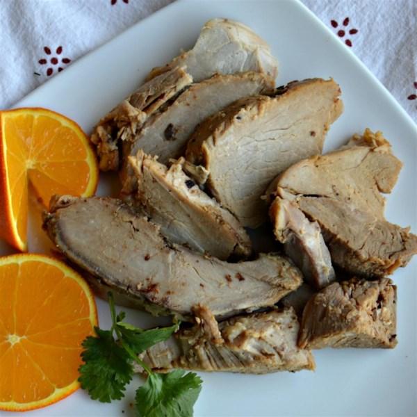 Receita de carne de porco assada ao estilo cubano