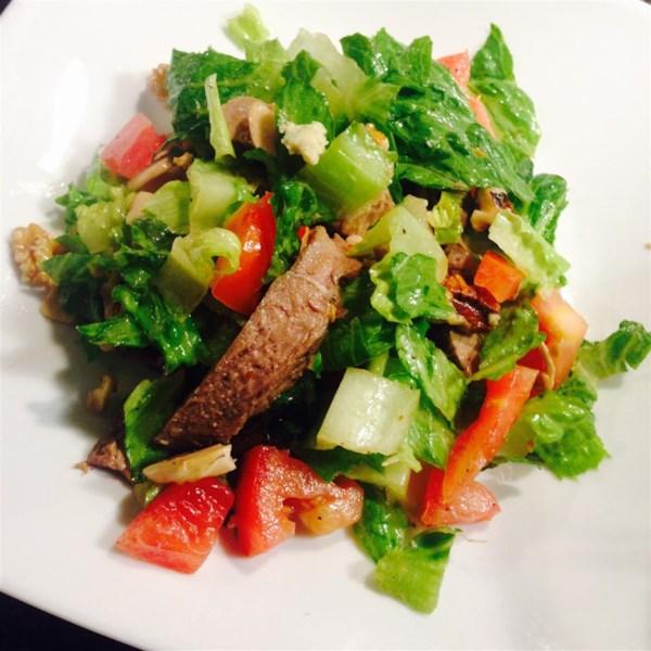 Receita de Salada de Bife (Salada Ranen)