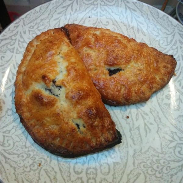 Receita de Crosta de Torta flaky de amêndoa doce