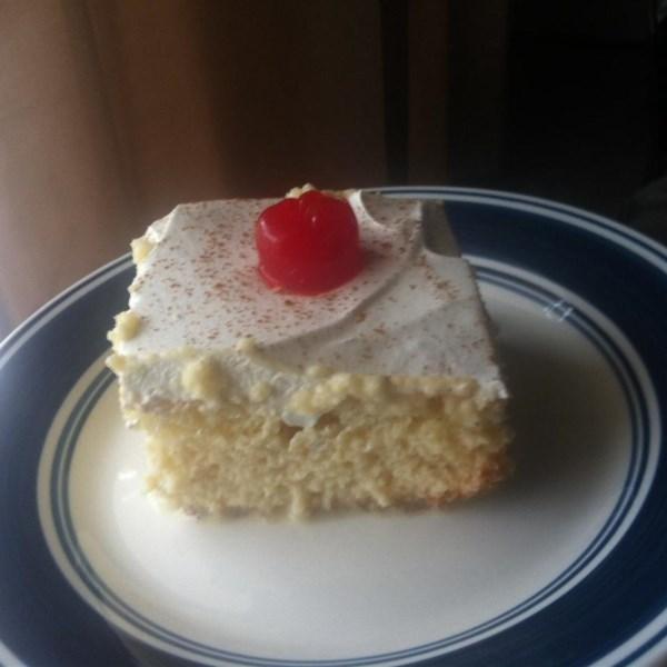 Como fazer receita de bolo tres leches