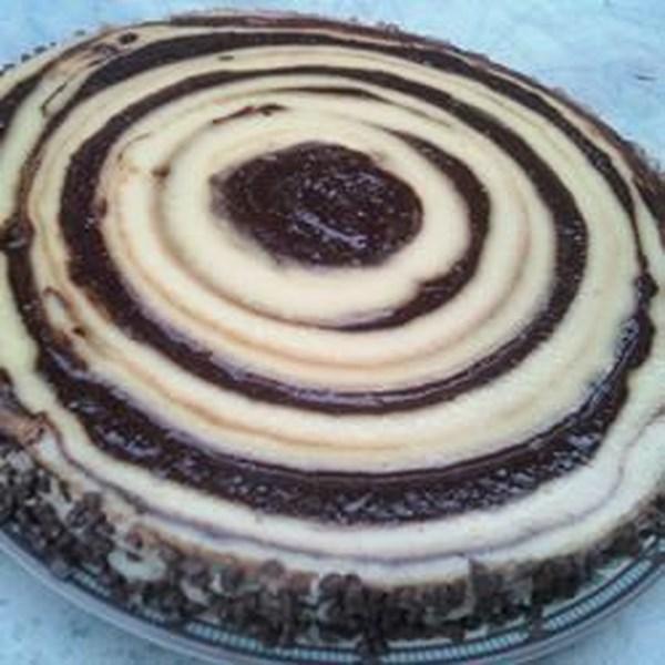 Receita de Cheesecake de Rum e Chocolate