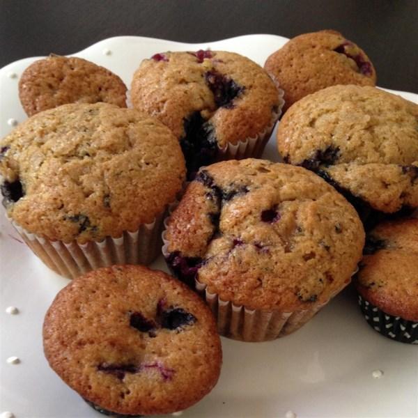 Receita de Muffins de Mirtilo II