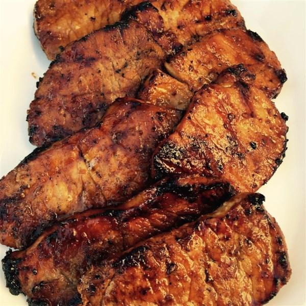 Receita chinesa de costeletas de porco