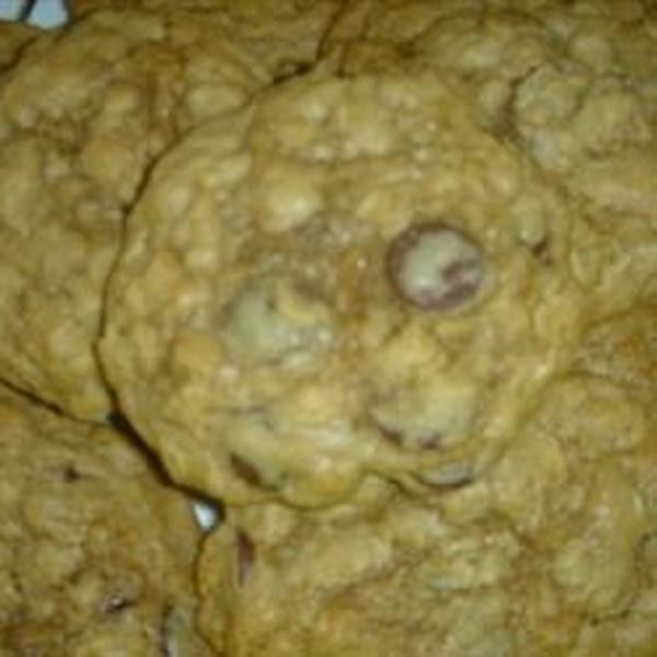 Receita de Biscoitos de Aveia de Chip de Chocolate